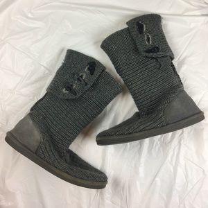 BearPaw Shoes - ❗️Bearpaw Knit Grey Boot