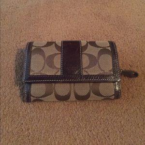 Coach Handbags - Brown coach wallet