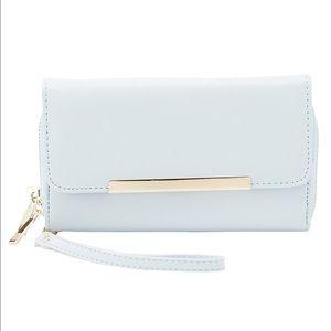 Brand New Double Zipper Wristlet Wallet