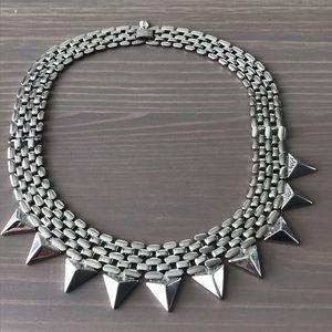 Express Jewelry - EXPRESS Silver Choker Necklace