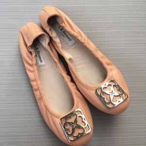 LK Bennett Shoes - LK Bennett nude leather Roset flats