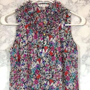 CAbi Tops - Cabi XS Liberty Floral Print Sleeveless top