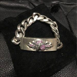 Chrome Hearts Jewelry - Auth chrome hearts silver link bracelet