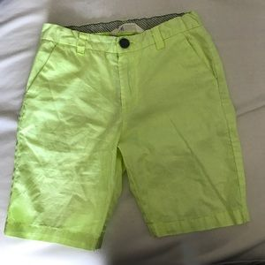 Lime Green Boys H&M shorts