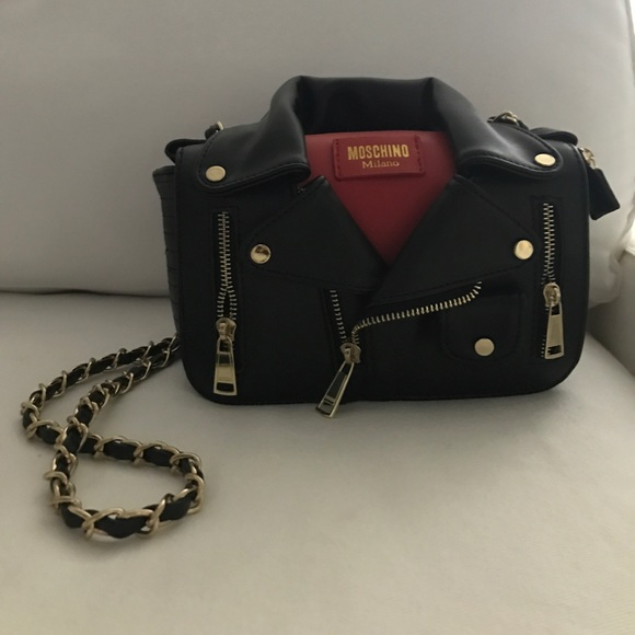 factory price how to orders agreatvarietyofmodels Moschino Jacket Purse PRICE FIRM,