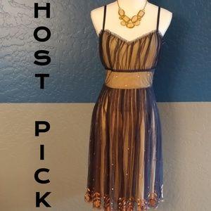 Odille  Dresses & Skirts - 🎊HP🎊NWOT Odille Midi Dress Plus Size 14