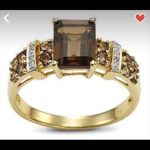 Jewelry - 18k yellow gold filled ring