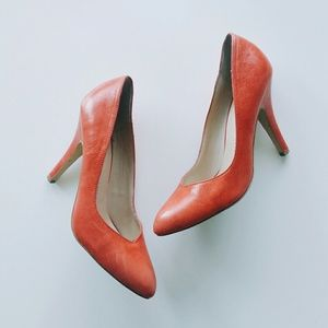 DV by Dolce Vita Shoes - DV By Dolce Vita Notty Coral Red Classic Pumps