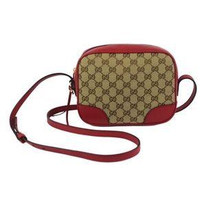 Gucci Handbags - Gucci classic GG Disco Bree Bag Red