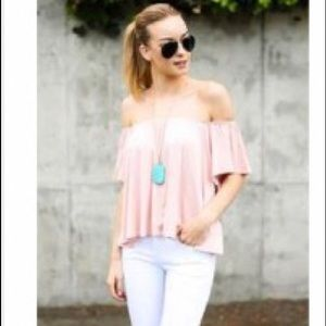 Vici Collection Tops - Great off the shoulder top