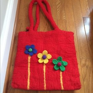 Handbags - Red purse / bag