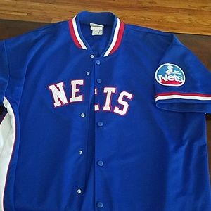 Mitchell & Ness Other - New Jersey Nets Shooting Jersey