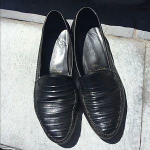 Made in Brazil black loafers