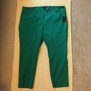 Eloquii Pants - Eloquii Kady Fit Pants - Kelly Green, 24R