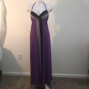 Dresses & Skirts - Beautiful color block maxi dress never worn