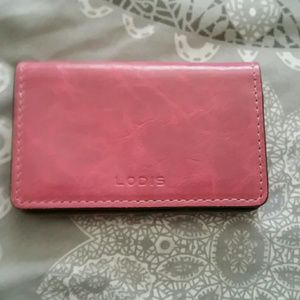 Lodis Handbags - Lodis Card holder Leather