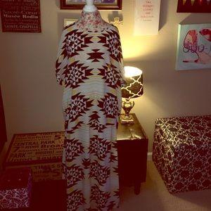 Gibson Latimer Other - Aztec Blouse & Skirt