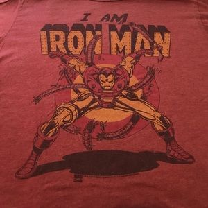 Junk Food Clothing Other - Junk Food Marvel Iron Man Tee