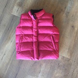 Gap Girls hot pink vest