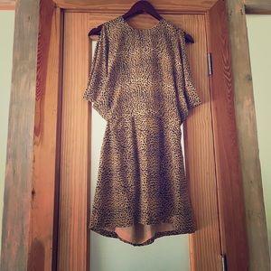 Wren Dresses & Skirts - Beautiful barely worn animal print dress !