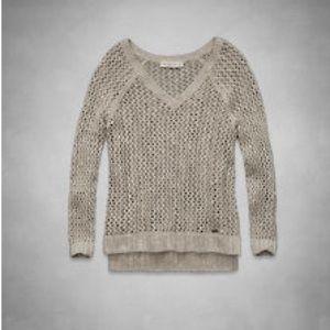 Abercrombie & Fitch Pamela shine sweater