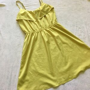 ⚡️SALE⚡️Yellow H&M dress