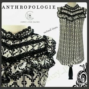 Anthro Corey Lynn Calter silk mini dress