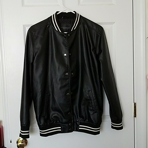 62% off Aeropostale Jackets & Blazers - Cute faux leather ...