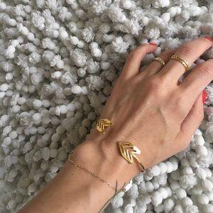 Gorjana Jewelry - Gorjana Chevron Bracelet