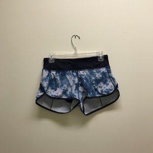 Lululemon tie dye shorts