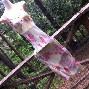 Other - Sheer silk bias cut over dress