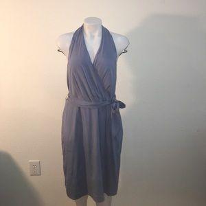 NWOT Ann Taylor lined Silk halter dress