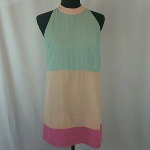 Skies Are Blue Dresses & Skirts - Skies Are blue Color Block Shift Dress Size S