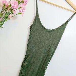 Three Dots Dresses & Skirts - Shopbop 'Rosina' Ruched Maxi Dress by Three Dots