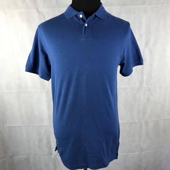 Old Navy Blue Classic Polo Shirt Sz M