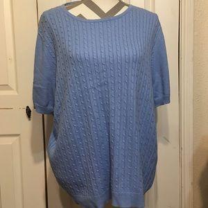 Allison Daley Sweaters - Allison Daley Blue Sweater