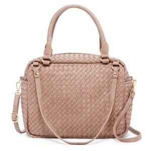 """Handbags - ❤️FINAL MARKDOWN!! Woven """"Rorie"""" satchel."""