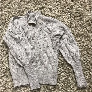 Hand made knitted sweater
