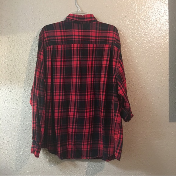 42 off faded glory other faded glory flannel button up for Button up flannel shirts