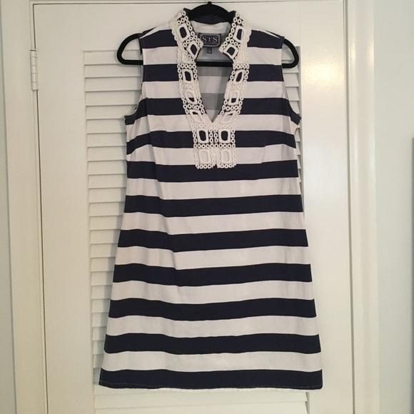 f8ce4a54107d Sail to Sable Striped Tunic Dress. M_590f832d4e95a355800c205d