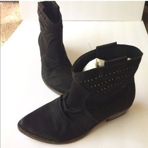 Steven by Steve Madden suede stuffed booties boot