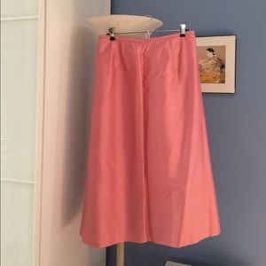 Ann Taylor 100% silk lined SKIRT -New