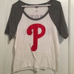 Small Phillies shirt from Pink