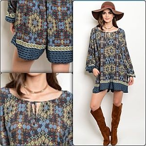 Pants - Transitional Relaxed Easy Bohemian Romper L XL