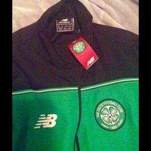 OFFICIAL GLASGOW CELTIC TRACK SUIT NEW BALANCE