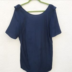 Tucker Dresses & Skirts - Tucker for Target Blue Ruffle Mini Dress
