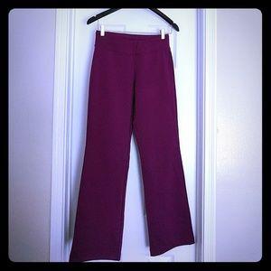 Ativa Pants - Burgundy Ativa yoga pants