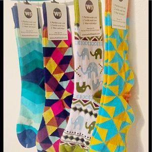 Other - (4) Men's high quality fashion dress socks!