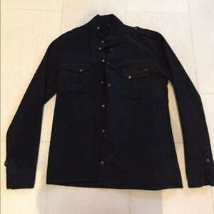 Nudie Jeans Other - Designer black button up Nudie Jeans shirt