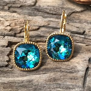 Jewelry - Handcrafted earrings with Swarovski crystal #215